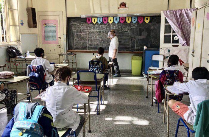 Este miércoles regresan las clases presenciales en casi toda la provincia de Buenos Aires