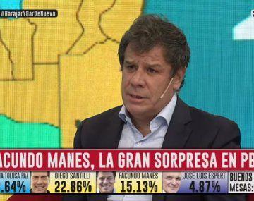 Manes aseguró en C5N que seguirá junto a Diego Santilli pero manteniendo la independencia de la identidad