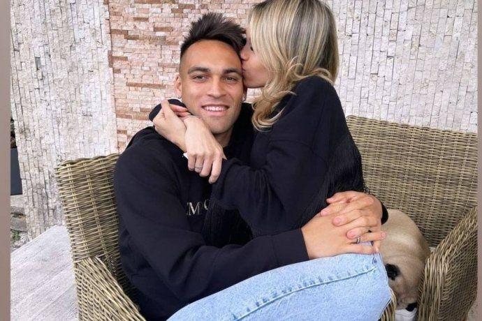 El festejo de Lautaro Martínez luego de salir campeón con Inter