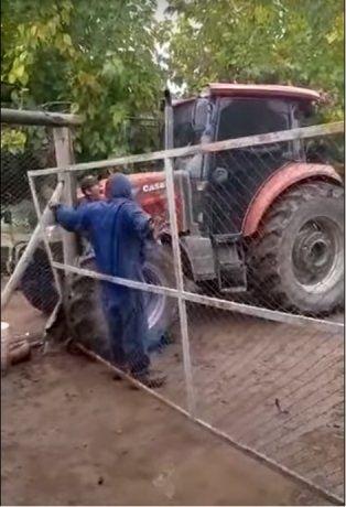 VIDEO: El dueño de un campo atropelló a un empleado con su tractor en Mendoza