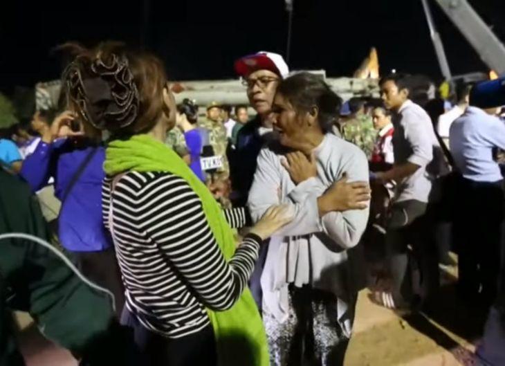 Un derrumbe en Camboya dejó un saldo de 36 muertos