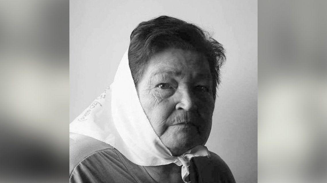 Murió Felisa Nilda Sotelo, de Madres de Plaza de Mayo