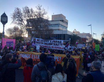 Guadalupe Lucero: multitudinaria marcha a un mes de su desaparición