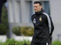 lionel scaloni no dio el equipo para el debut: esta casi confirmado
