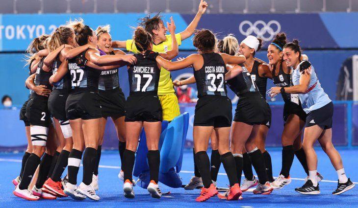 Las Leonas, finalistas de los Juegos Olímpicos