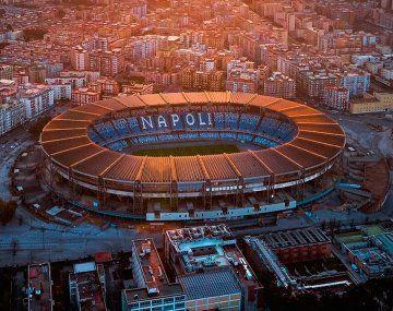 Nápoles ofrece el estadio Diego Maradona para el amistoso entre Argentina e Italia
