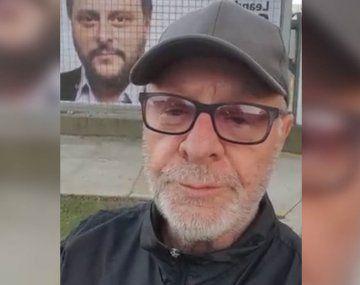 León Gieco mostró su apoyo a Leandro Santoro con la letra de una de sus canciones más conocidas