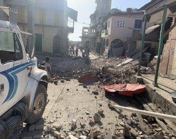 Un fuerte sismo sacudió a Haití: hay muertos y graves daños