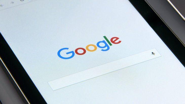 Se cayó por unas horas pero volvió Google Argentina