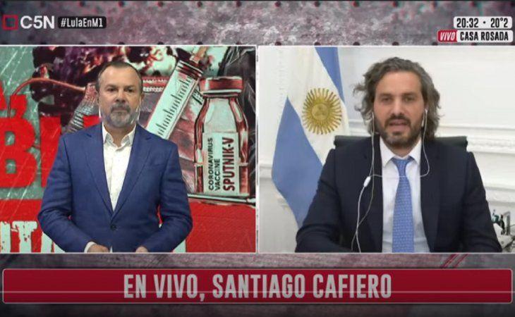 Santiago Cafiero a la oposición: Hagan política con lo que quieran, con la pandemia no